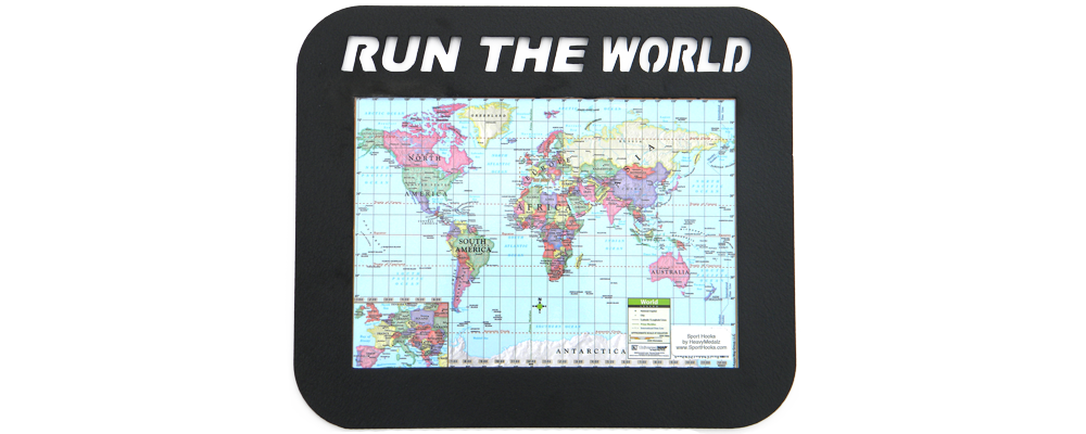 Run the World Map