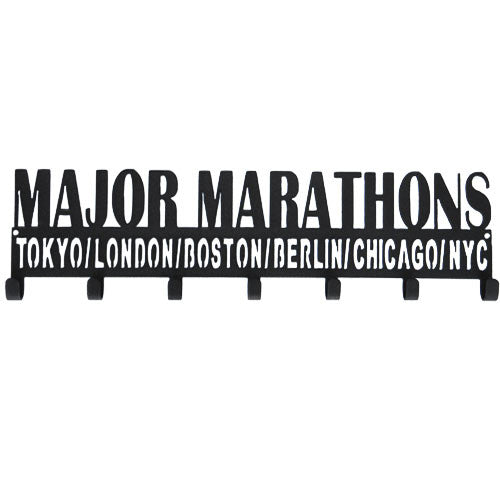 Major Marathons (Tokyo / London / Boston / Berlin / Chicago / NYC) - Medal Holder