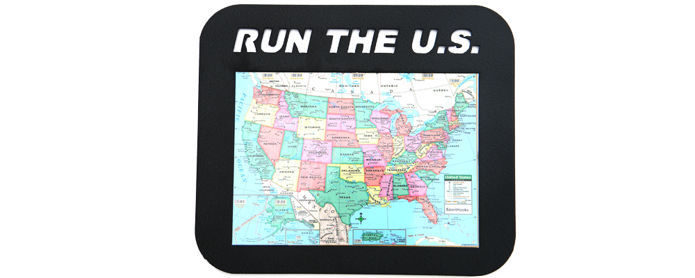Run The U.S. Map