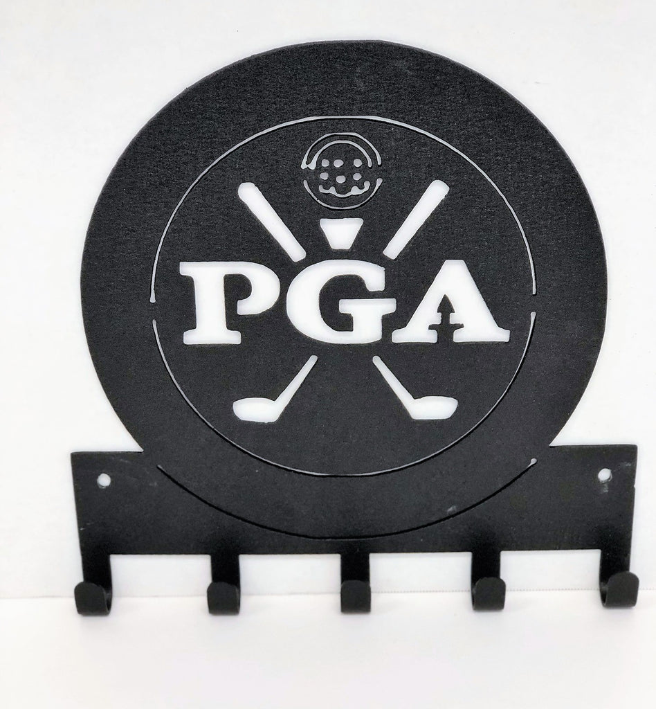 Custom Golf Club or Tournament Key/Hat Rack  | Golf Collection