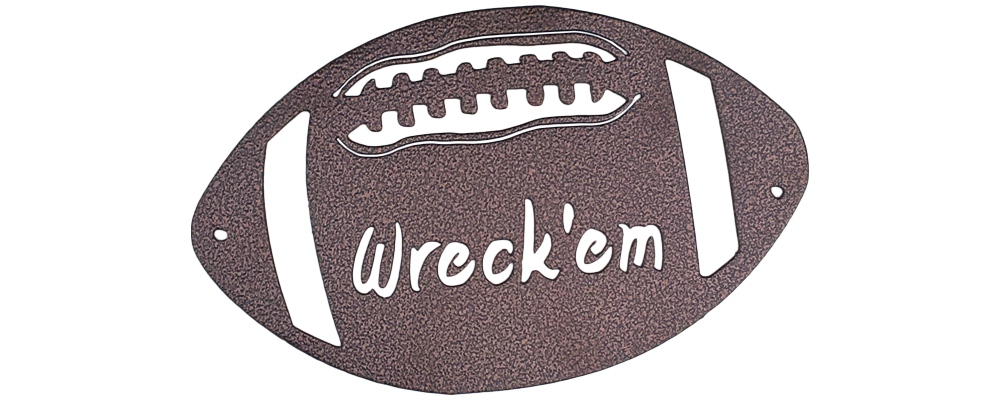 Wreck 'Em Football - Texas Tech Wall Art