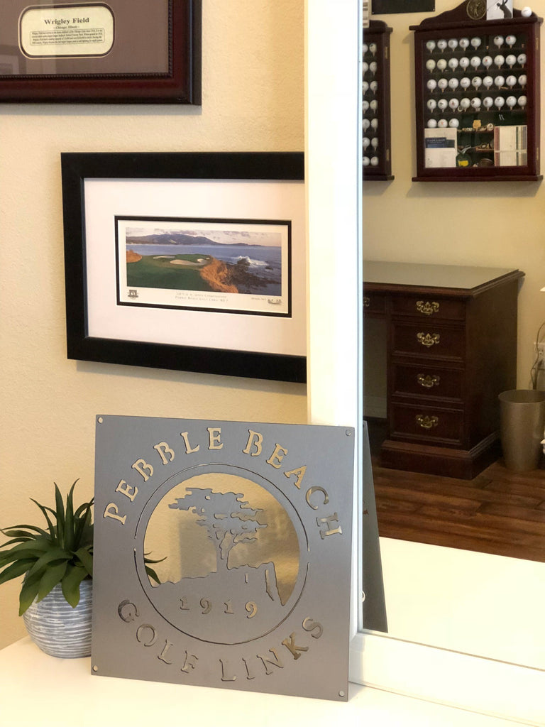 Pebble Beach Golf Logo Example Staged