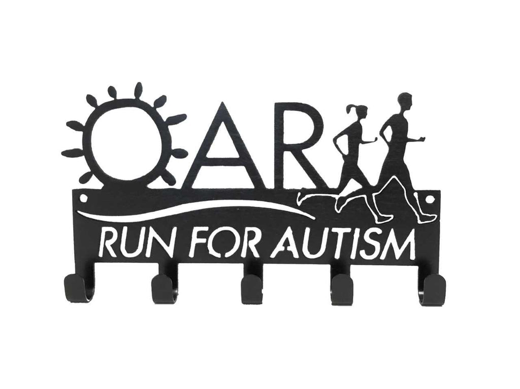 Official Run For Autism SportHook - Medal Hanger, Medal Holder