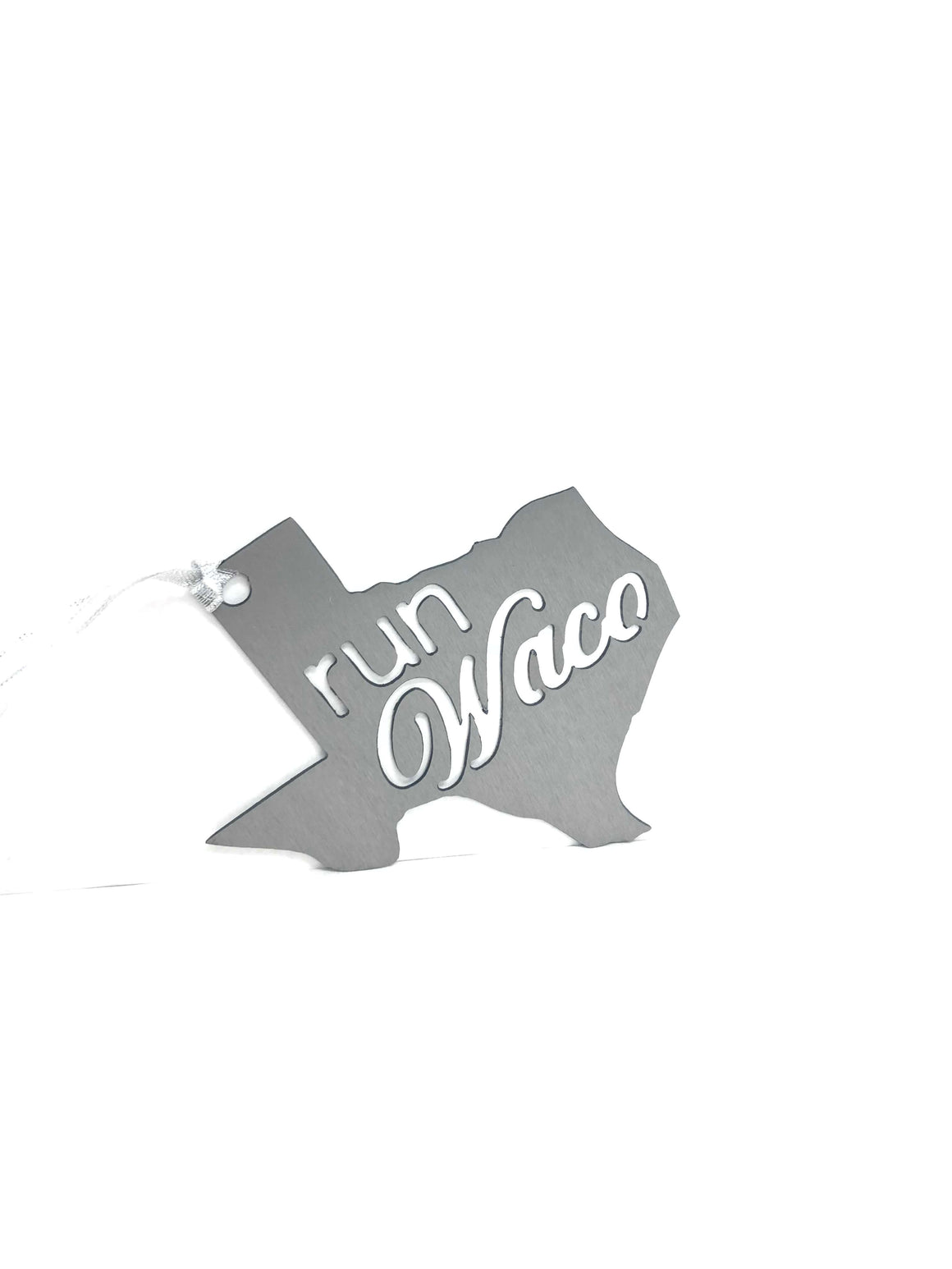 Run Waco Silo District Marathon Ornament