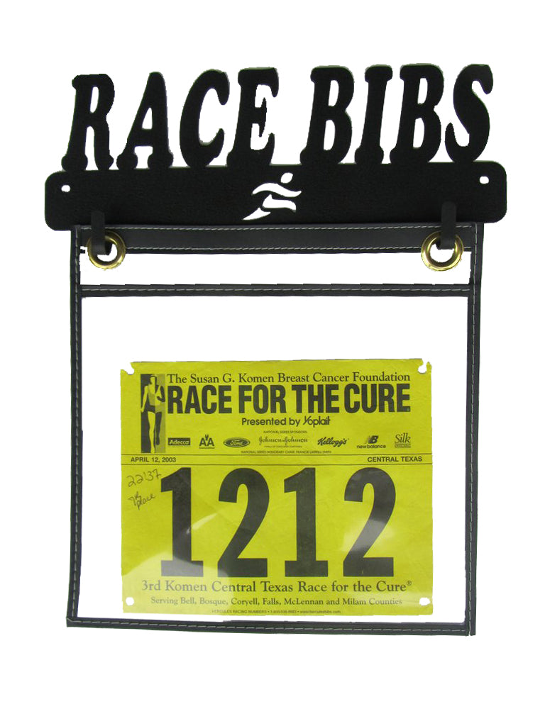 """Race Bibs"" - Race Bib Display Holder"