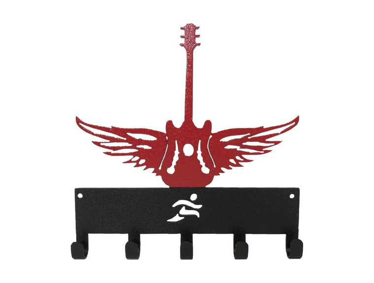 5 Hook Winged Guitar Two Color SportHook, holds 15+ medals