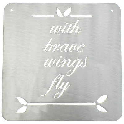 With Brave Wings Fly Metal Mantra