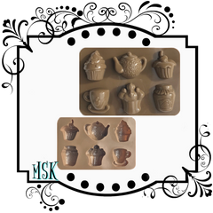 SILICONE MOLDS-CLAY/RESIN