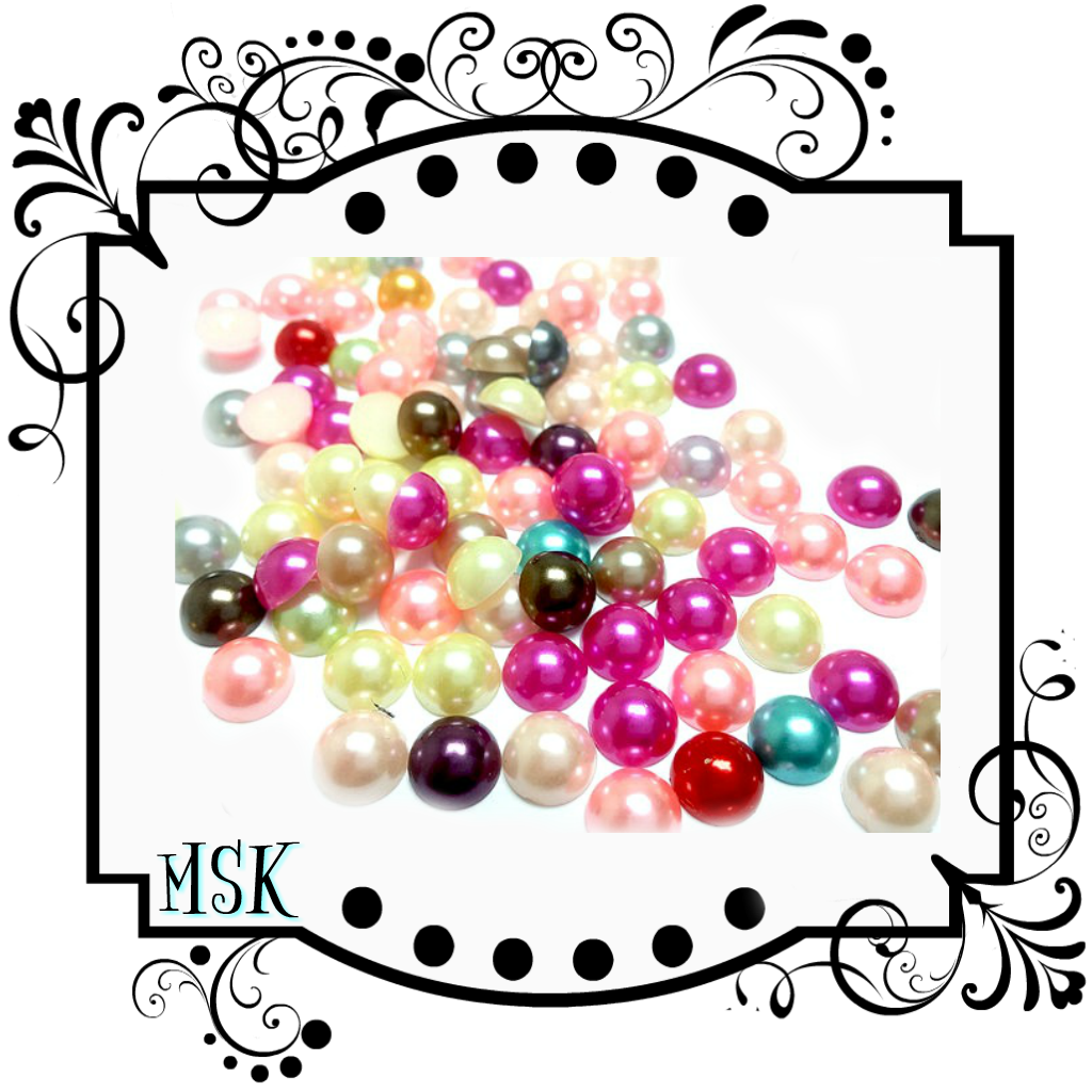 RHINESTONE-PEARLS-BEADS