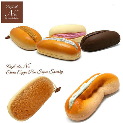 Cafe de N Bakery Cream Koppe Pan squishy