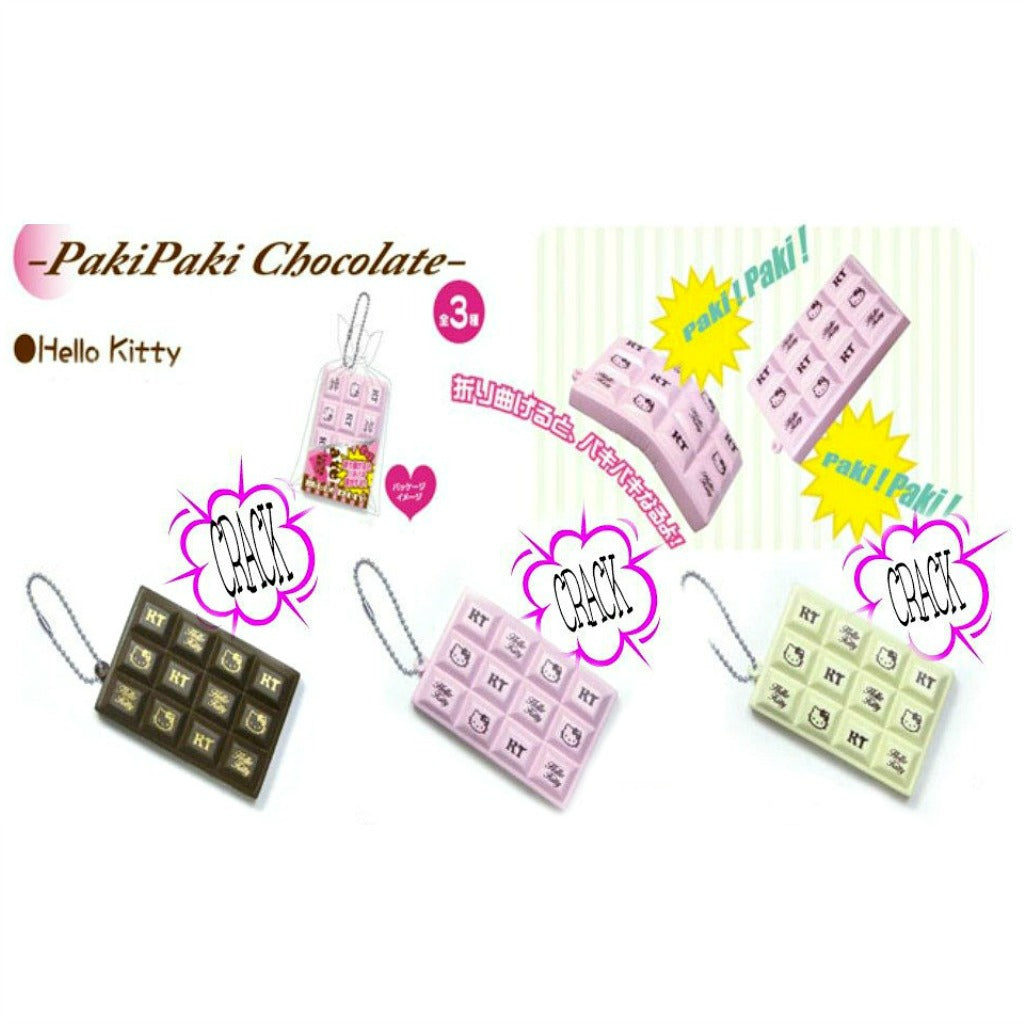 Hello Kitty Paki Paki Cracking bar squishy