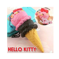 Hello Kitty Double Scoop Ice Cream Squishy