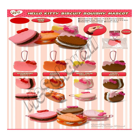 Hello Kitty 2016 Biscuit squishy