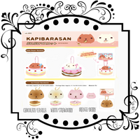 Kapibarasan Ice Cream sandwich/ CAKE SUPER squishy