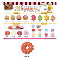 Sammy The Patissier Apricot  Heart Doughnut Squishy - SERIES 2