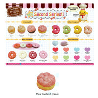 Sammy The Patissier Pink Custard Cream Creampuff Squishy - SERIES 2