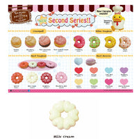 Sammy The Patissier Milk Cream Heart Doughnut  Squishy - SERIES 2