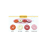 Sammy The Patissier Heart Doughnut Squishy - SERIES 2