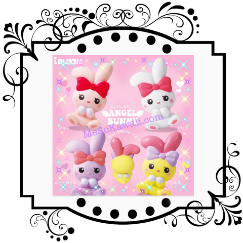 I-Bloom Angel Bunny scented super squishy
