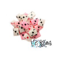 Playing cards resin cabochon