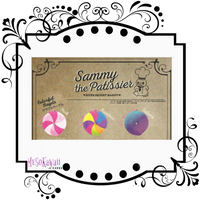 Sammy the Patissier colorful bagel squishy