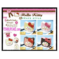 HELLO KITTY cake roll squishy=RARE