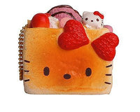 Hello Kitty Honey Toast squishy Bread