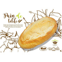 I-Bloom Pain de Table Jumbo Bread Loaf Squishy
