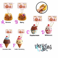 Kapibarasan Cafe Series Squishy Collection
