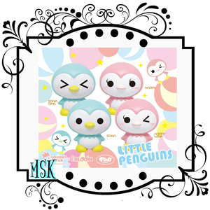 I-Bloom Little Penguins squishy