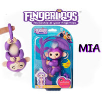 Fingerlings Friendship monkey MIA with bonus stand