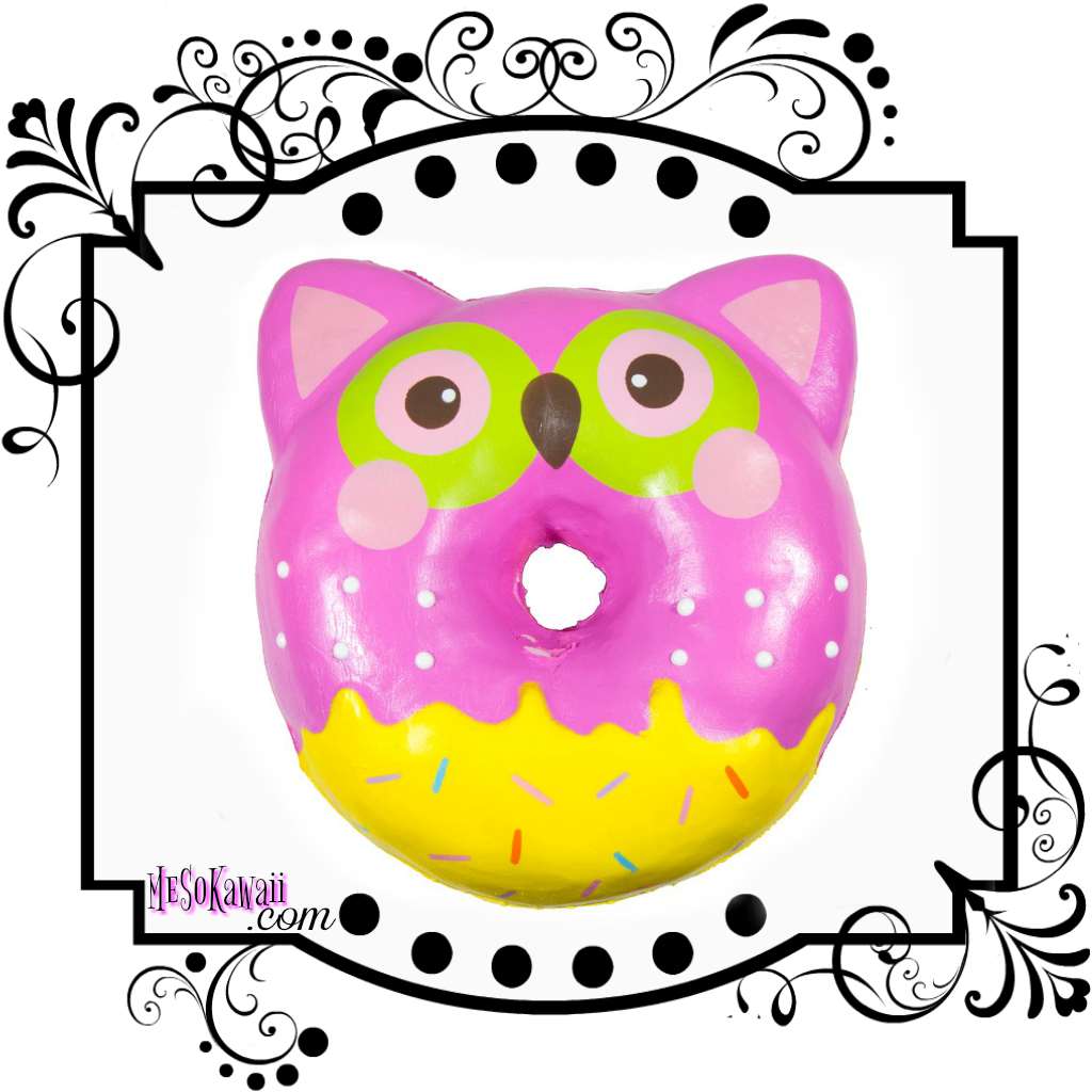 Puni Maru Animal Jumbo Donut squishy