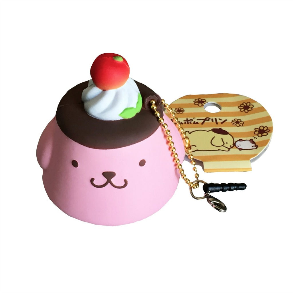 POM POM Purin Purin Strawberry Flan Pudding squishy mascot