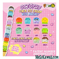 Puni Maru Octopus Magnet Stack Ice Cream Squishy