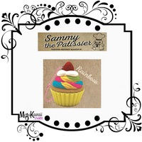 Sammy the Patissier Colorful Cupcake squishy