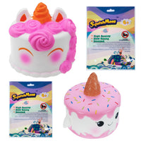 Unicorn Cake Squishy-2pc