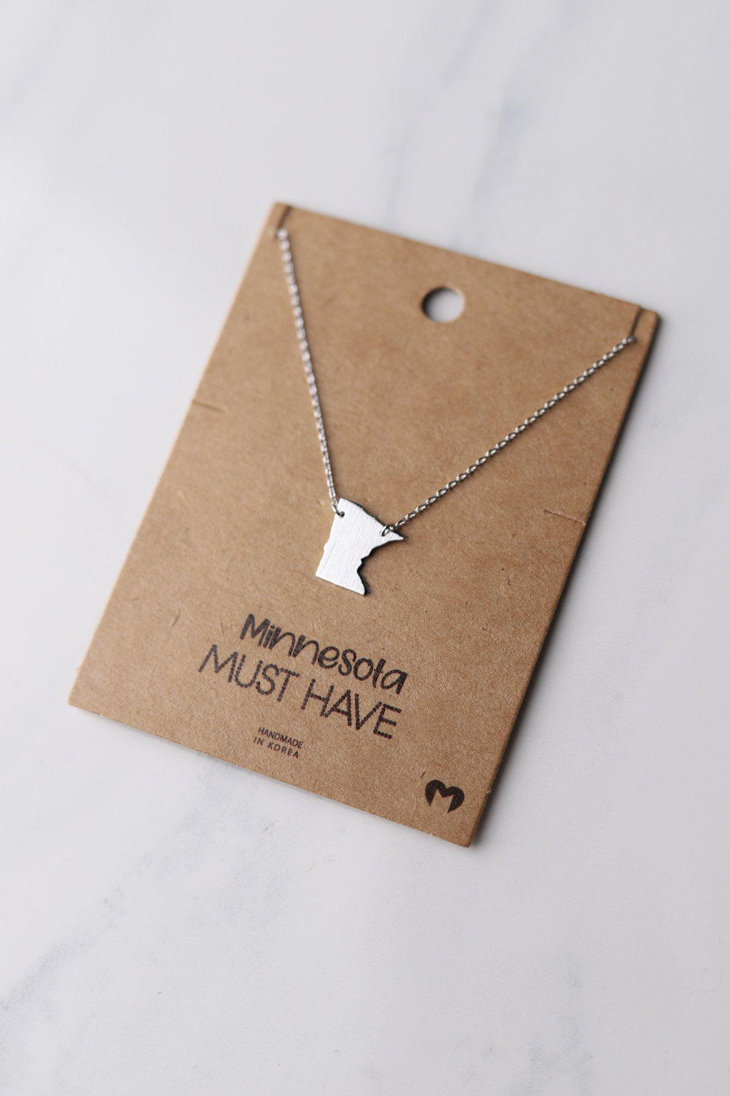 Minnesota Necklace - Silver
