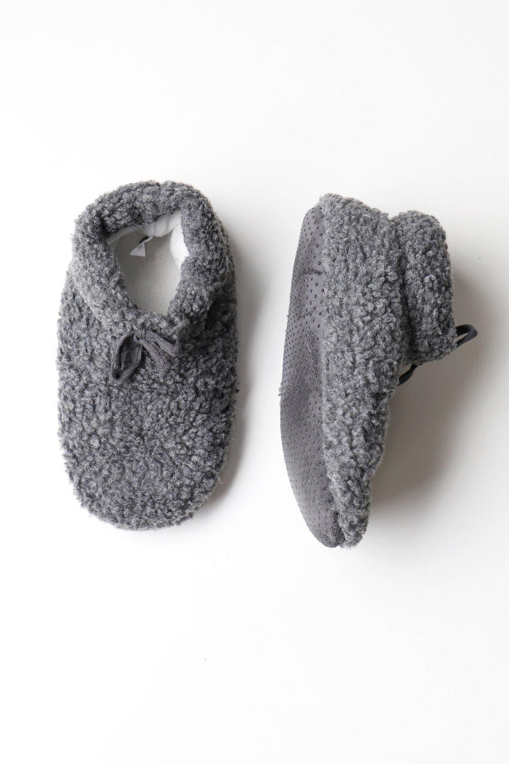 Charcoal Slipper Socks
