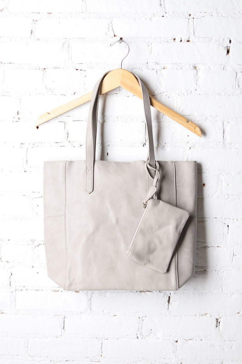 Dove Grey Bella Tote