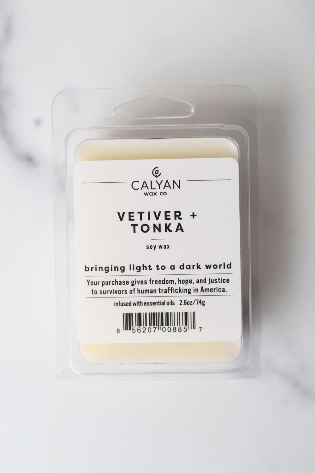 Vetiver + Tonka Wax Melt