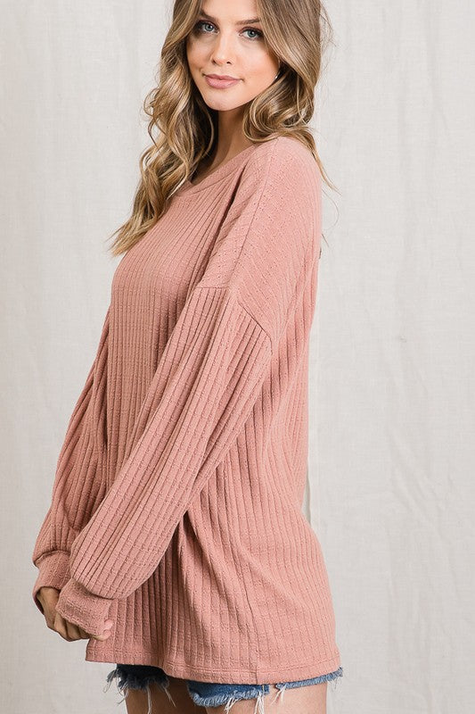 Delany Knitted Loose Fit Top