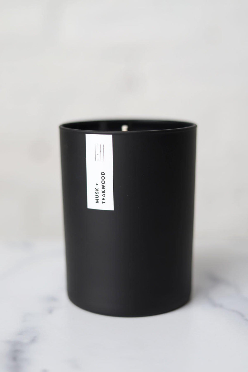 Musk + Teakwood Black Tumbler