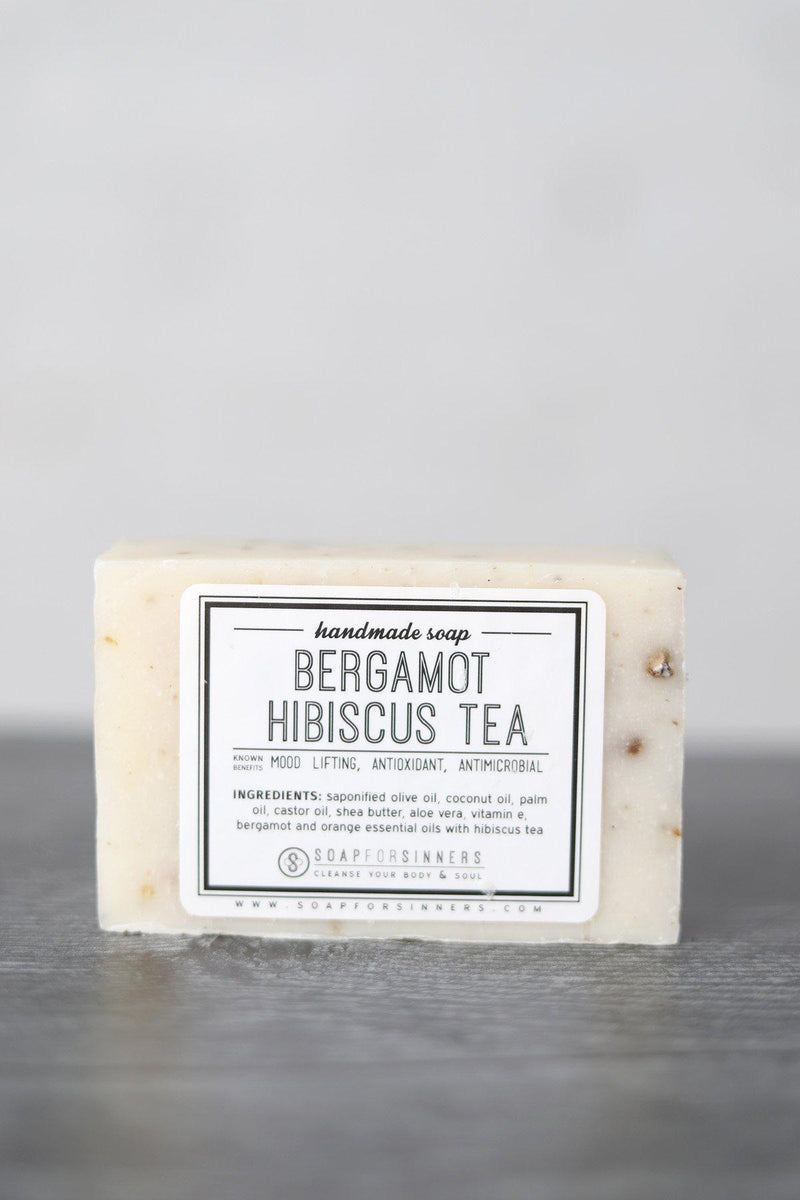 Bergamot Hibiscus Tea Bar Soap