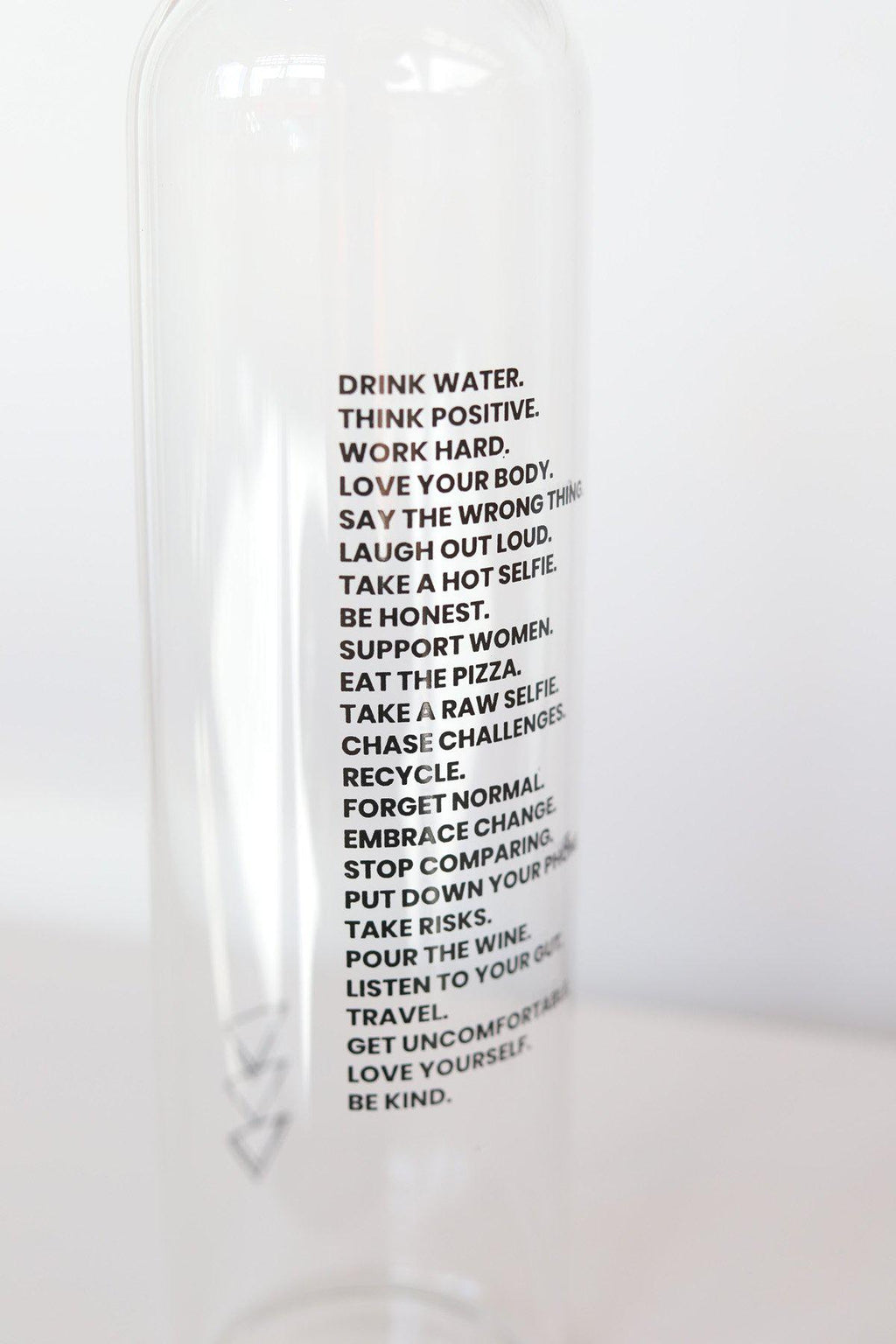 """Mantra"" 750ml Water Bottle - Gallery 512 Boutique"