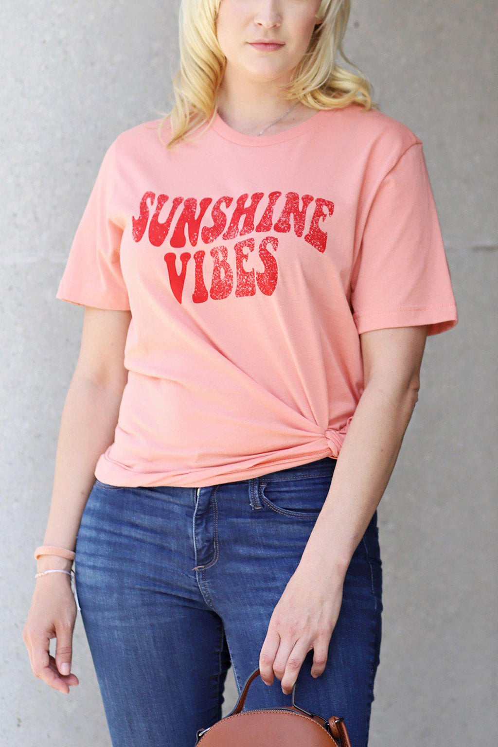 Sunshine Vibes Graphic Top - Gallery 512 Boutique