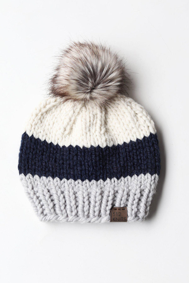 Colorblock Beanie - Toddler 2-5yrs