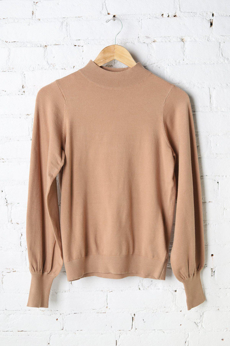 Landyn Balloon Sleeve Sweater