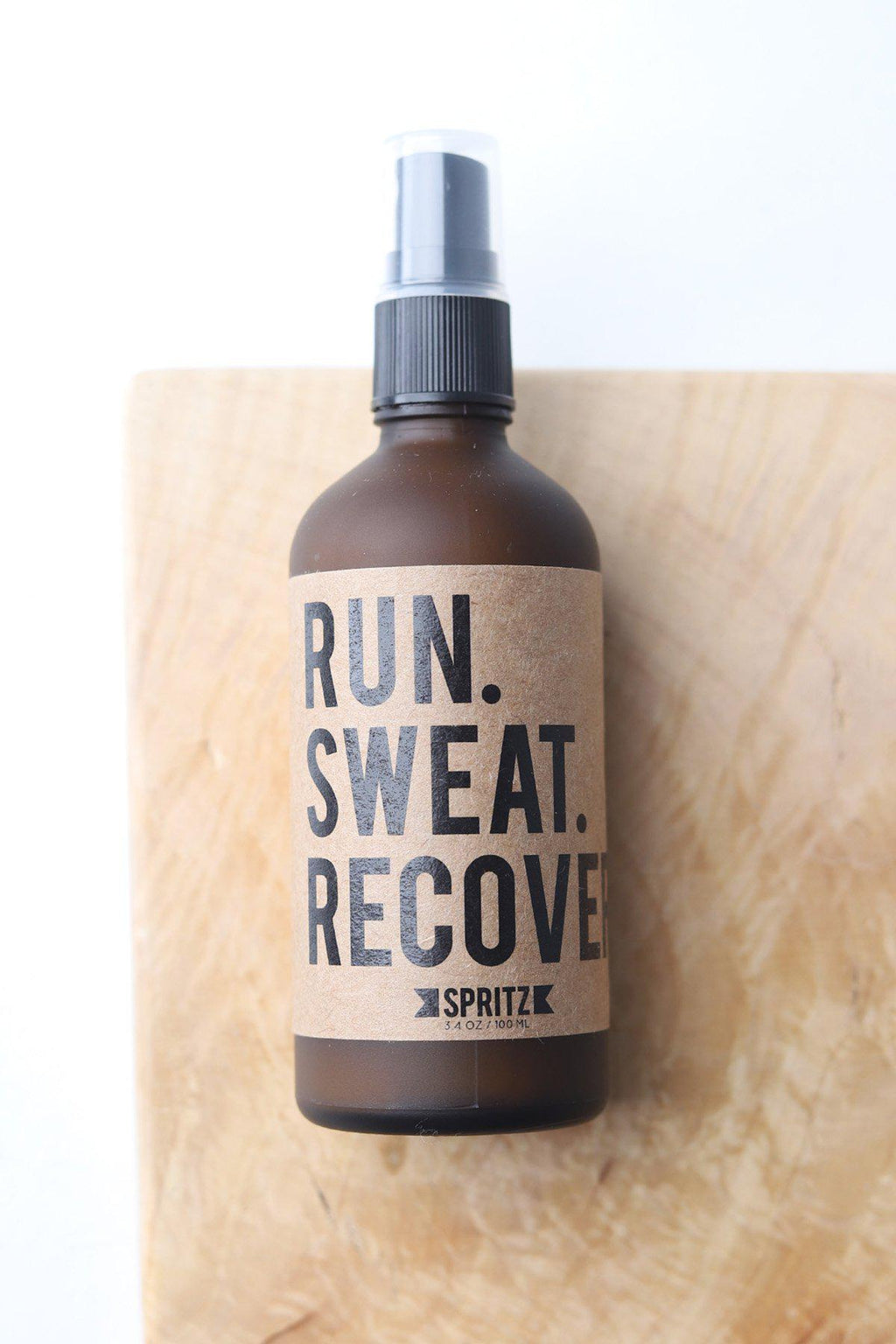 Run Sweat Recover Essential Oil Spritz by Happy Spritz
