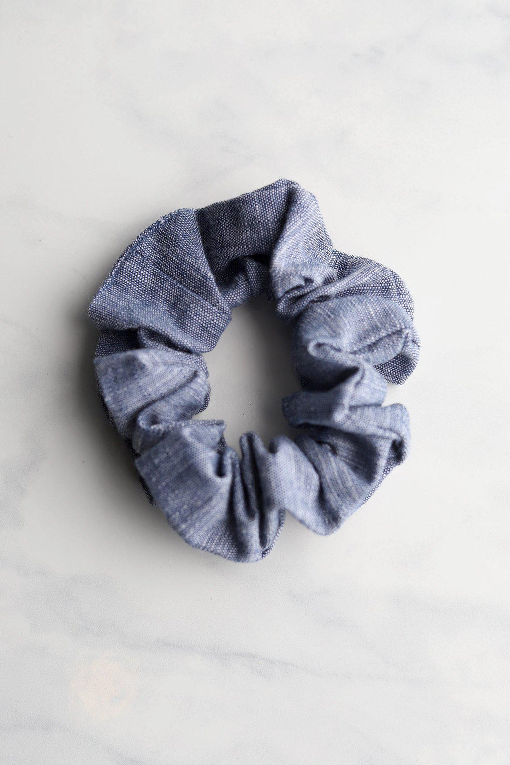 Chambray Scrunchie / Lt Chambray - Gallery 512 Boutique
