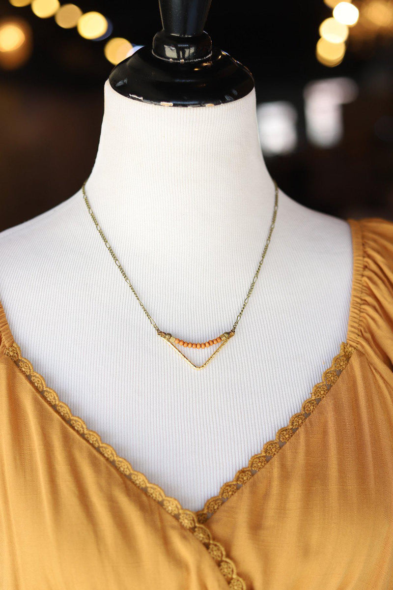 Saeclum Necklace - Gallery 512 Boutique